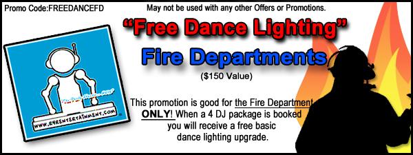 fire department promotions ladies auxiliary dance lighting annual dinner dj djs. Black Bedroom Furniture Sets. Home Design Ideas