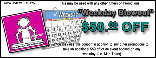 Weekday Coupon & Sale